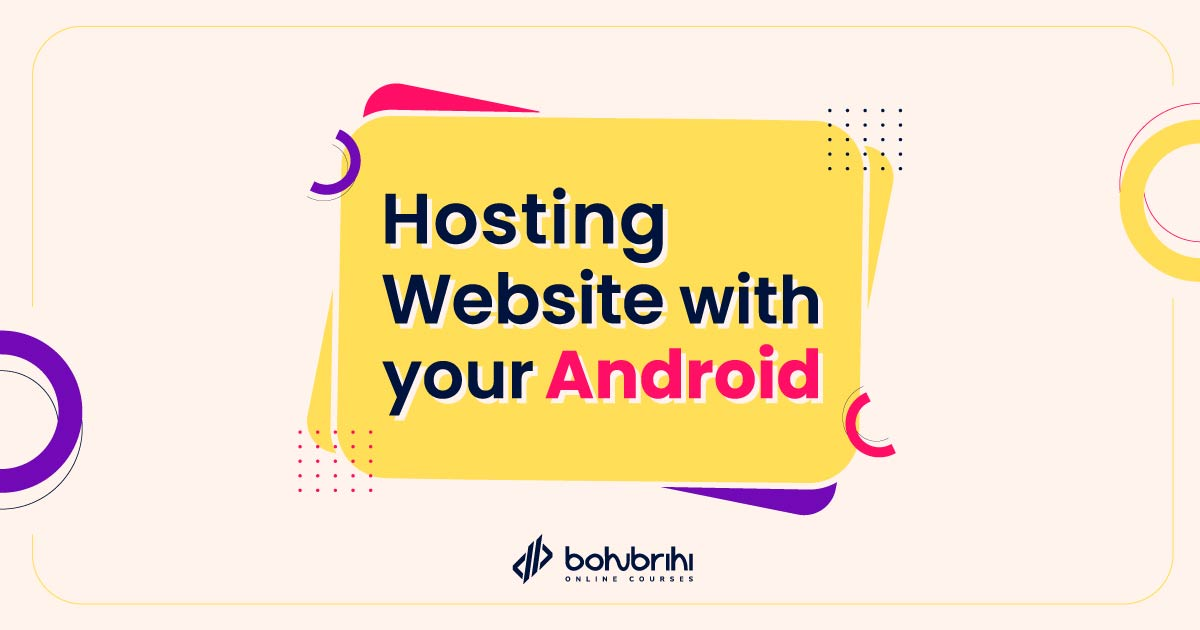 Hosting Website with your Android
