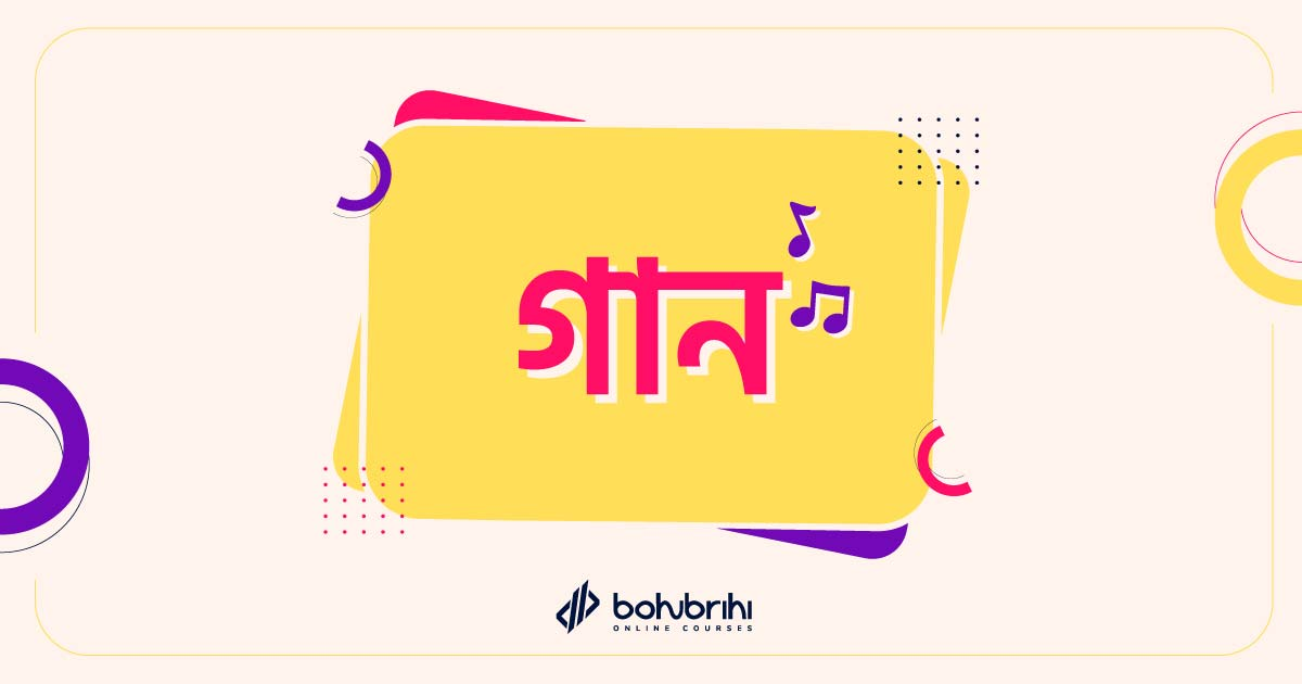 You are currently viewing গান