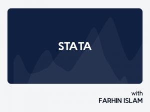 Stata For Statistics & Data Analysis