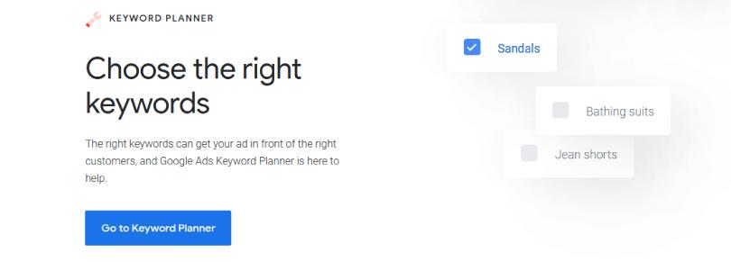 কীওয়ার্ড প্ল্যানার (Keyword Planner): কীওয়ার্ড রিসার্চের টুল