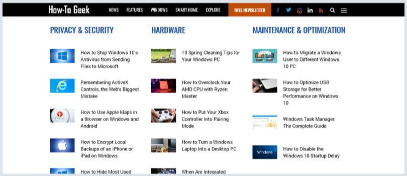 কন্টেন্ট রাইটিংয়ের উদ্দেশ্য: 'How to Geek' ওয়েবসাইট